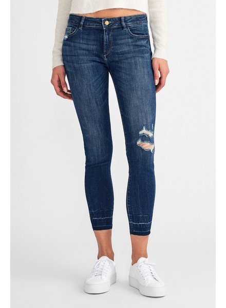 DL1961 DL MARGAUX MID RISE SKINNY ANKLE IN SHASTA