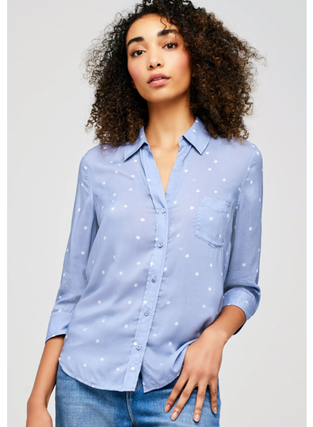 L'AGENCE RYAN BLOUSE WITH STARS