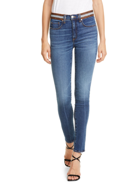 VERONICA KATE HIGH RISE SKINNY WITH TUX WAISTBAND
