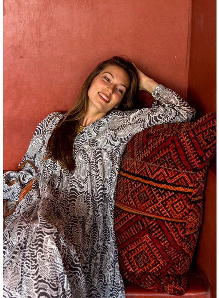 MATTA YAMINI TIGER DRESS