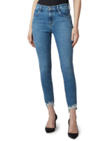 J BRAND ALANA HIGH RISE CROP SKINNY IN DESTRUCT