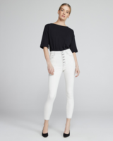 J BRAND LILLIE HIGH RISE CROP SKINNY IN INDUSTRIA