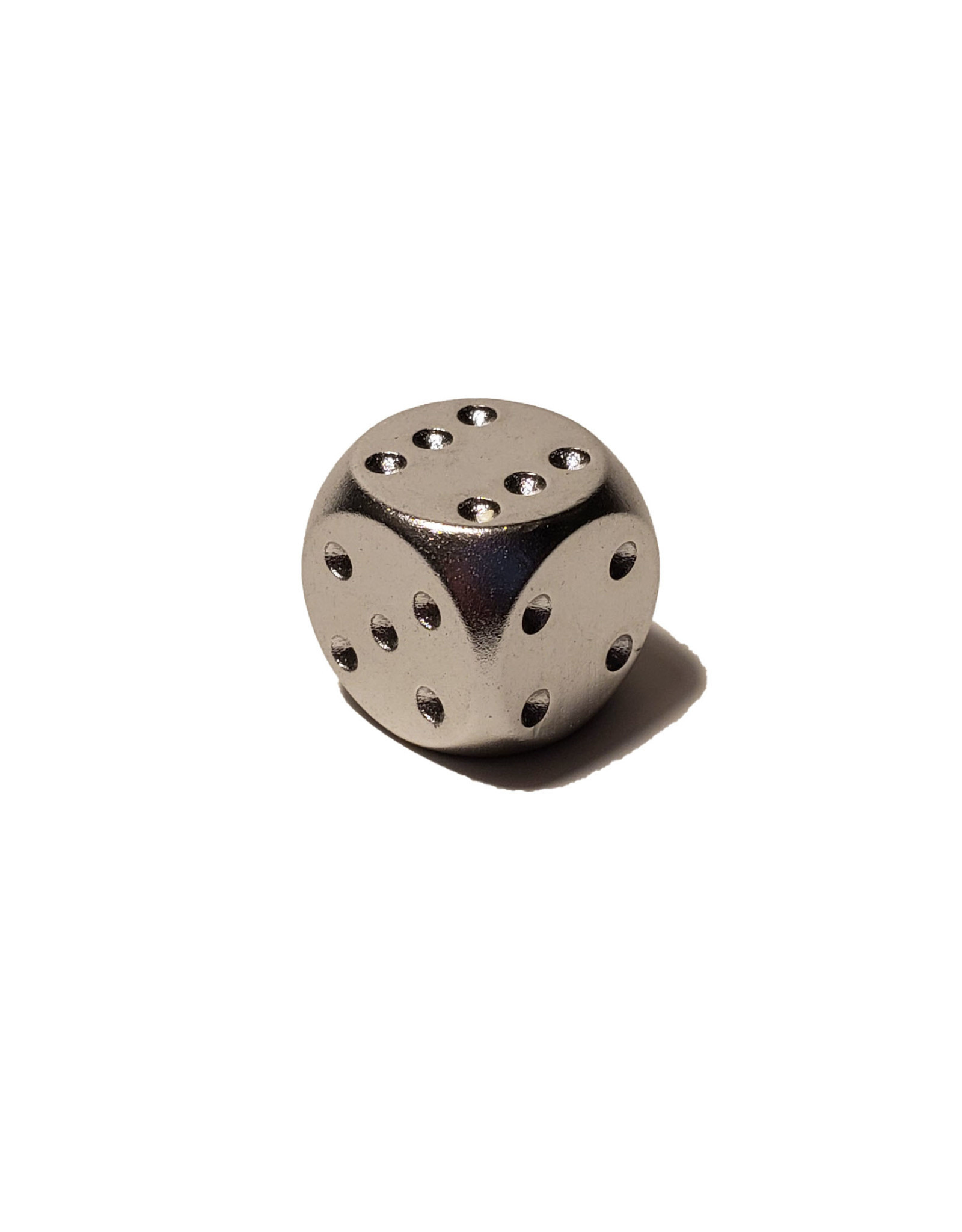 Pipped Aluminum D6 - Silver