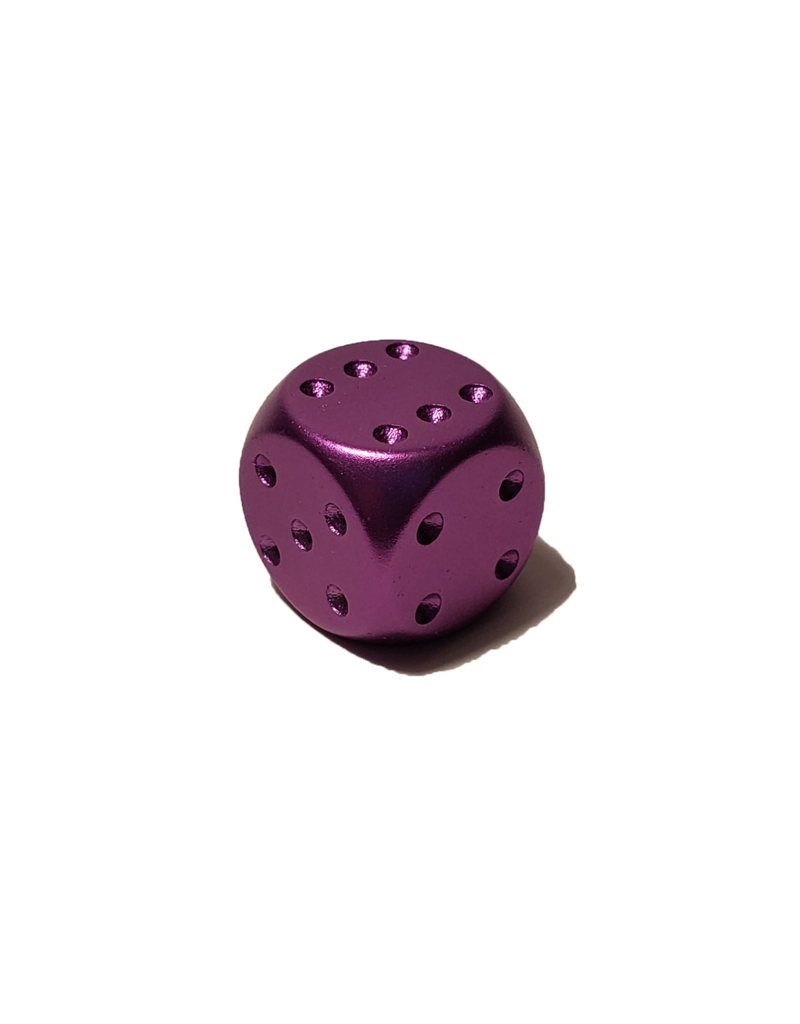 Pipped Aluminum D6 - Purple