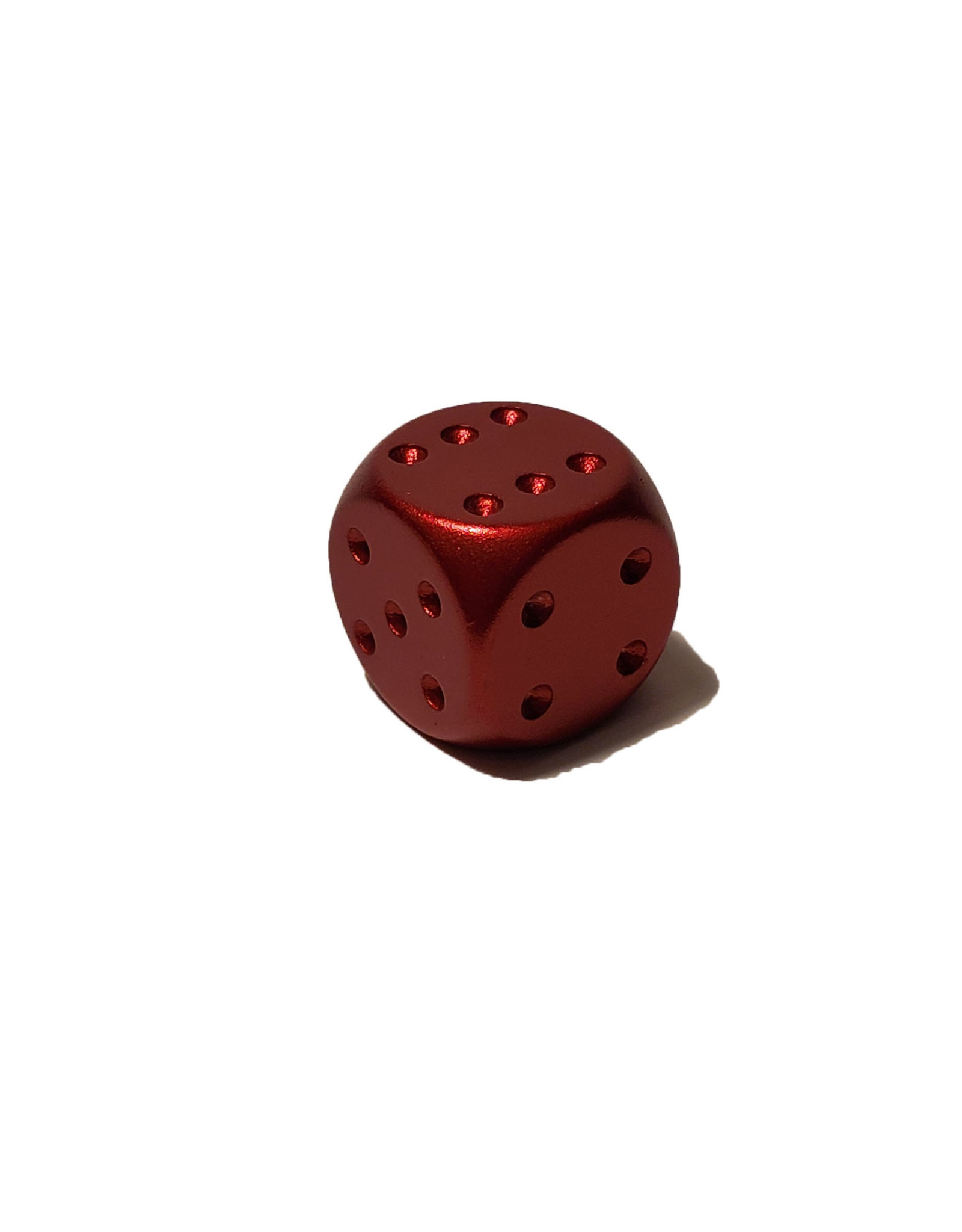 Pipped Aluminum D6 - Red