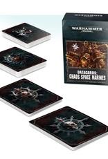 Warhammer 40K Datacards: Chaos Space Marines
