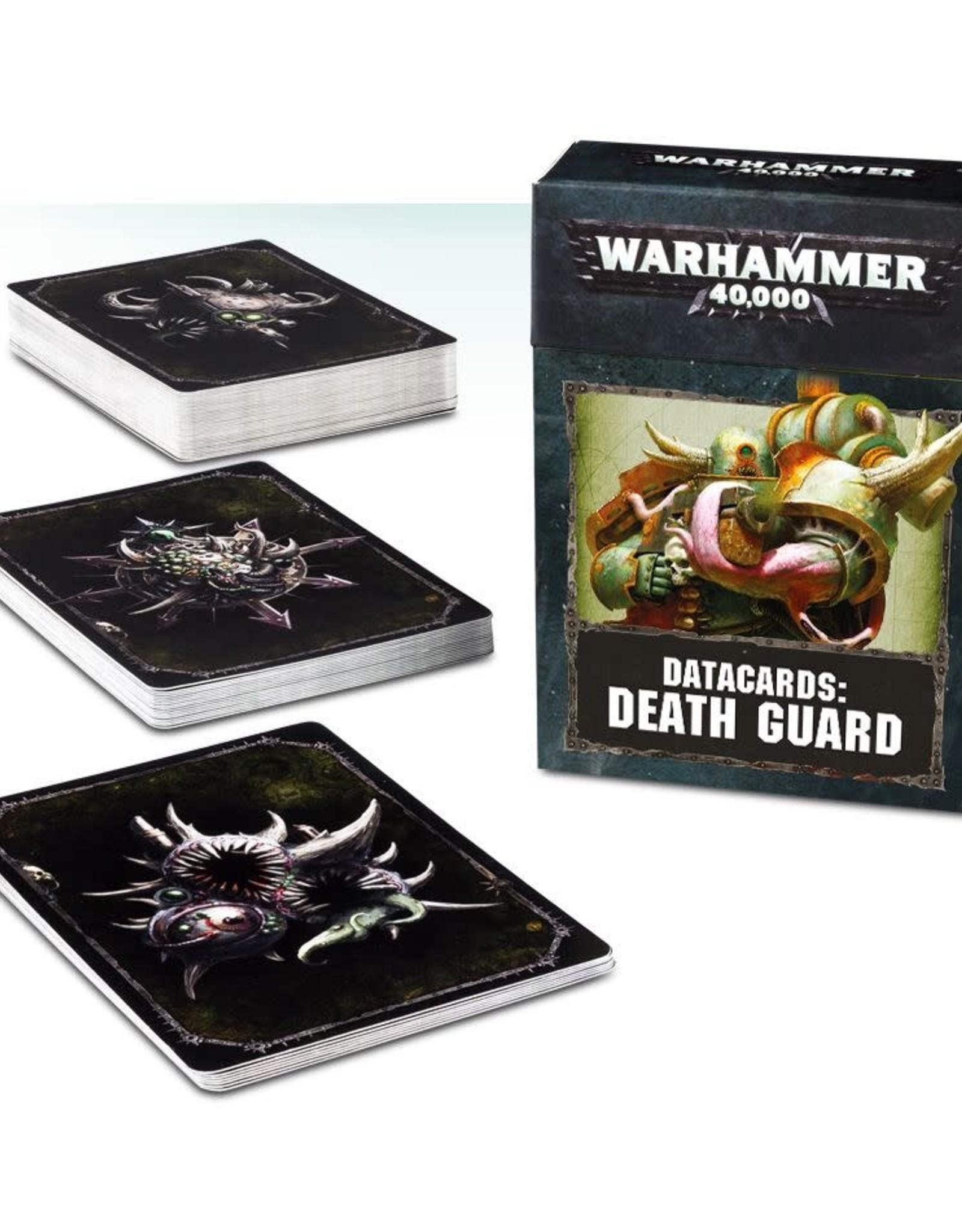 Warhammer 40K Datacards: Death Guard