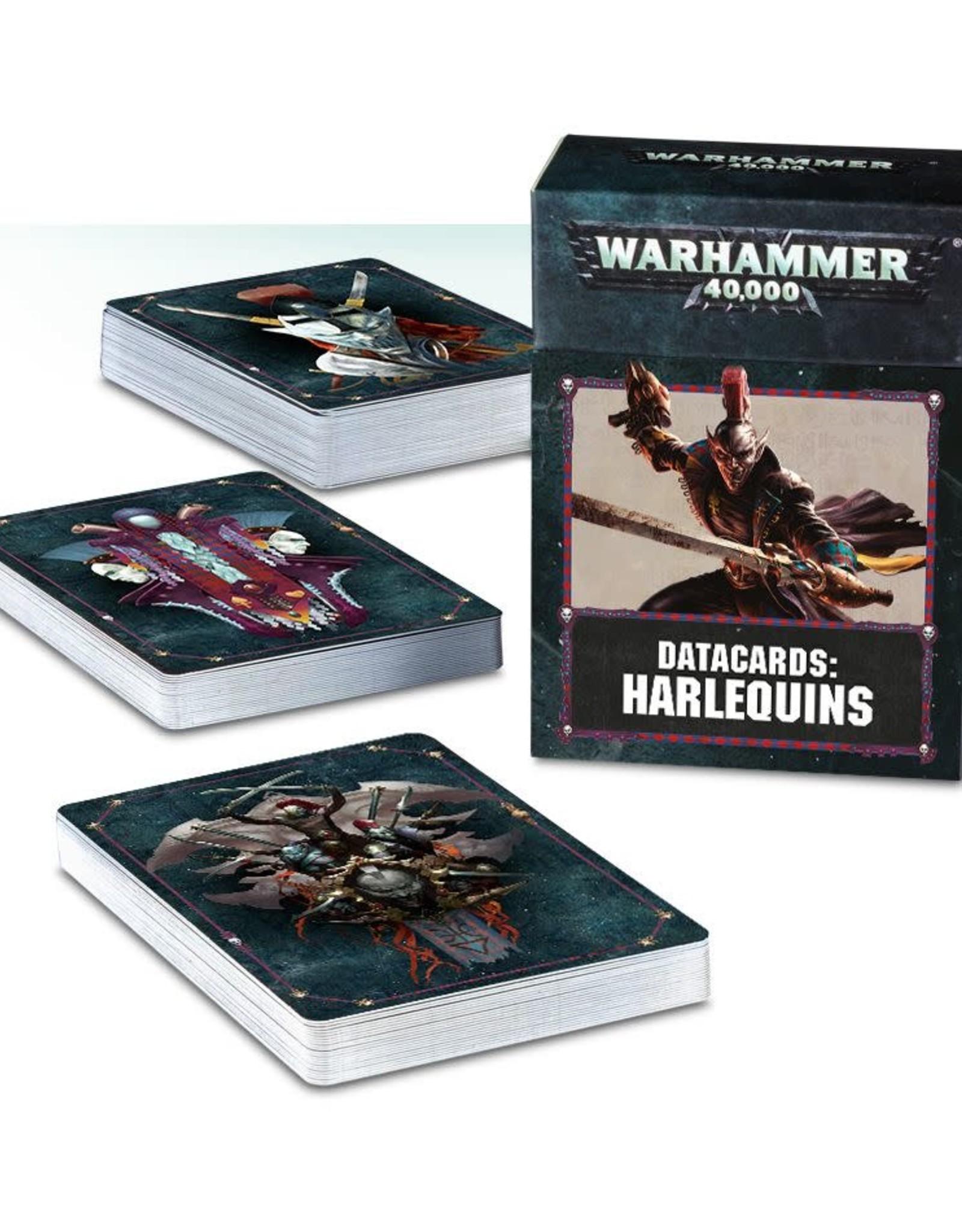 Warhammer 40K Datacards: Harlequins