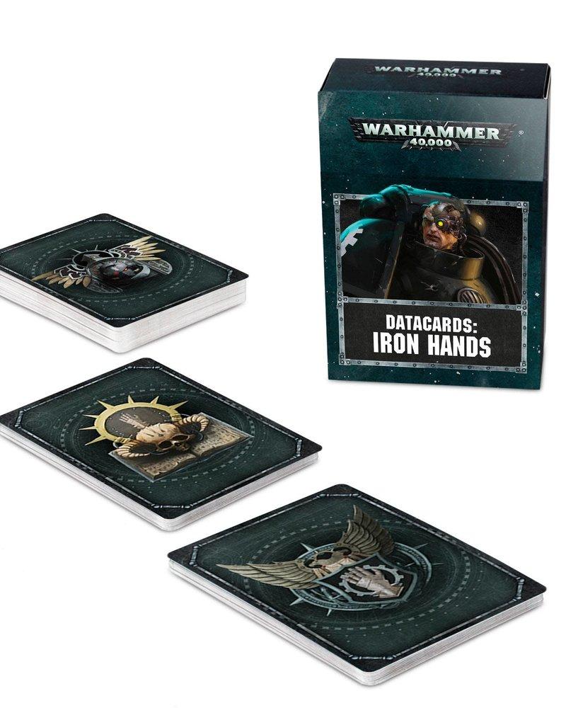 Warhammer 40K Datacards: Iron Hands