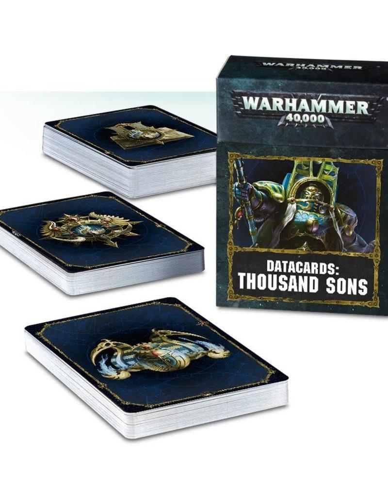 Warhammer 40K Datacards: Thousand Sons