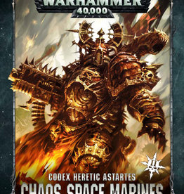 Warhammer 40K Codex: Chaos Space Marines
