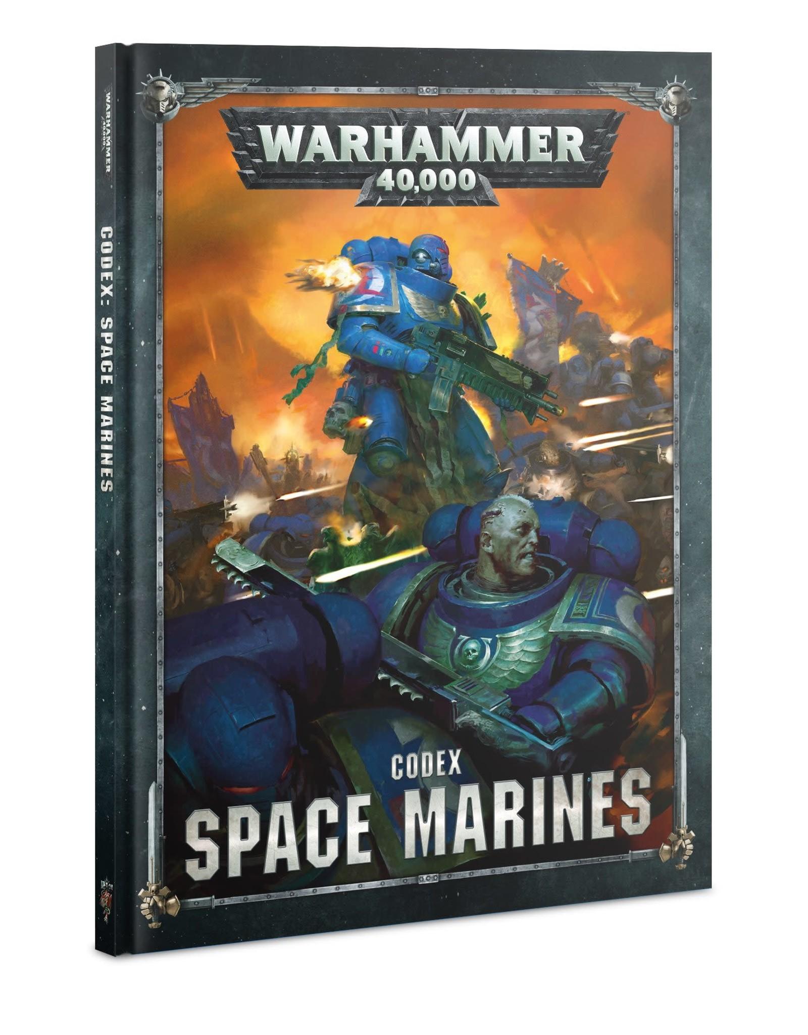 Warhammer 40K Codex: Space Marines