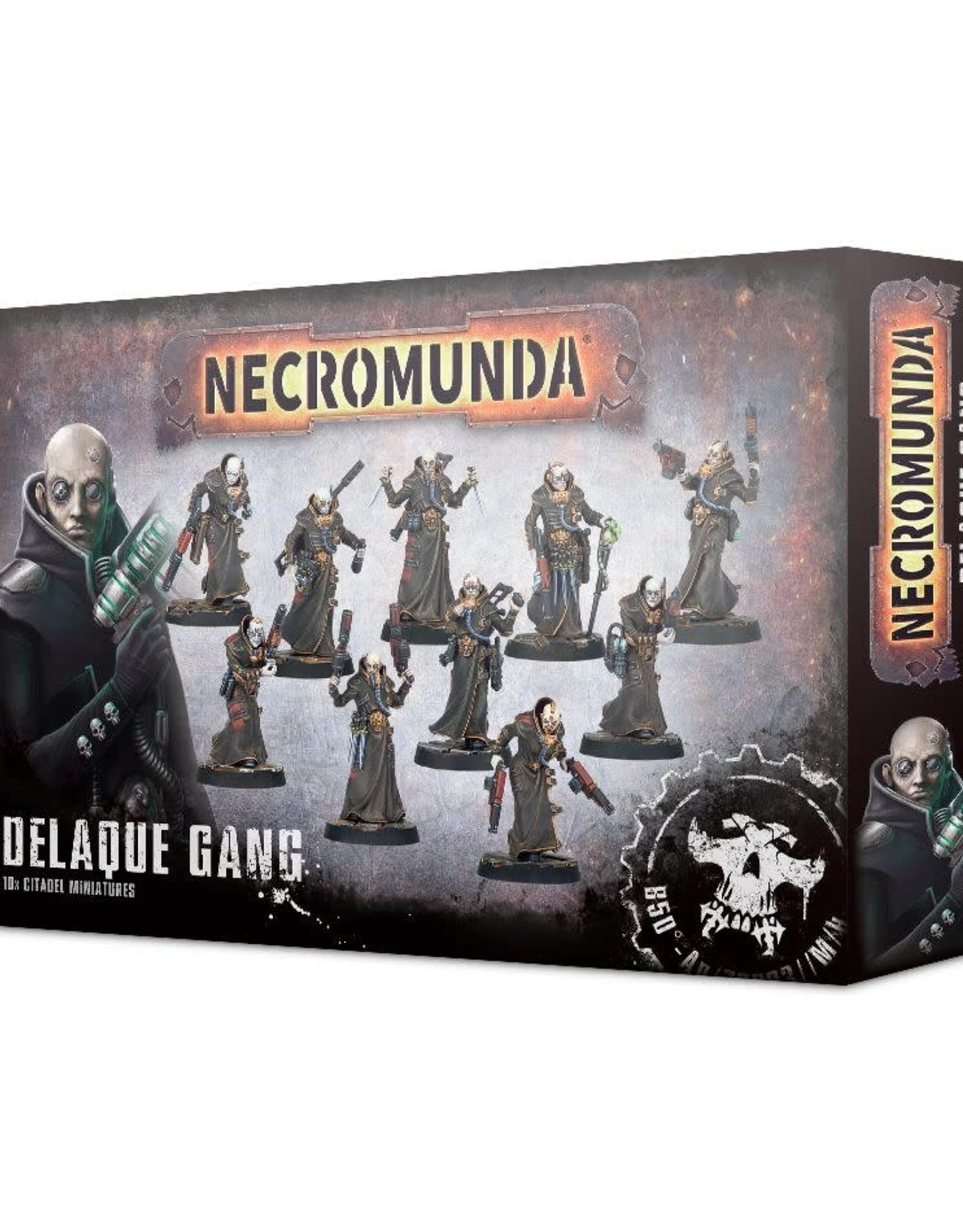 Necromunda Necromunda Delaque Gang