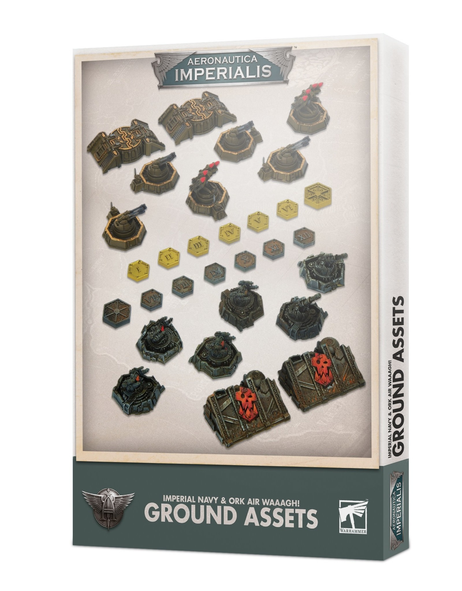 Aeronautica Imperialis Aeronautica imperialis: Imperial and Ork Ground Assets
