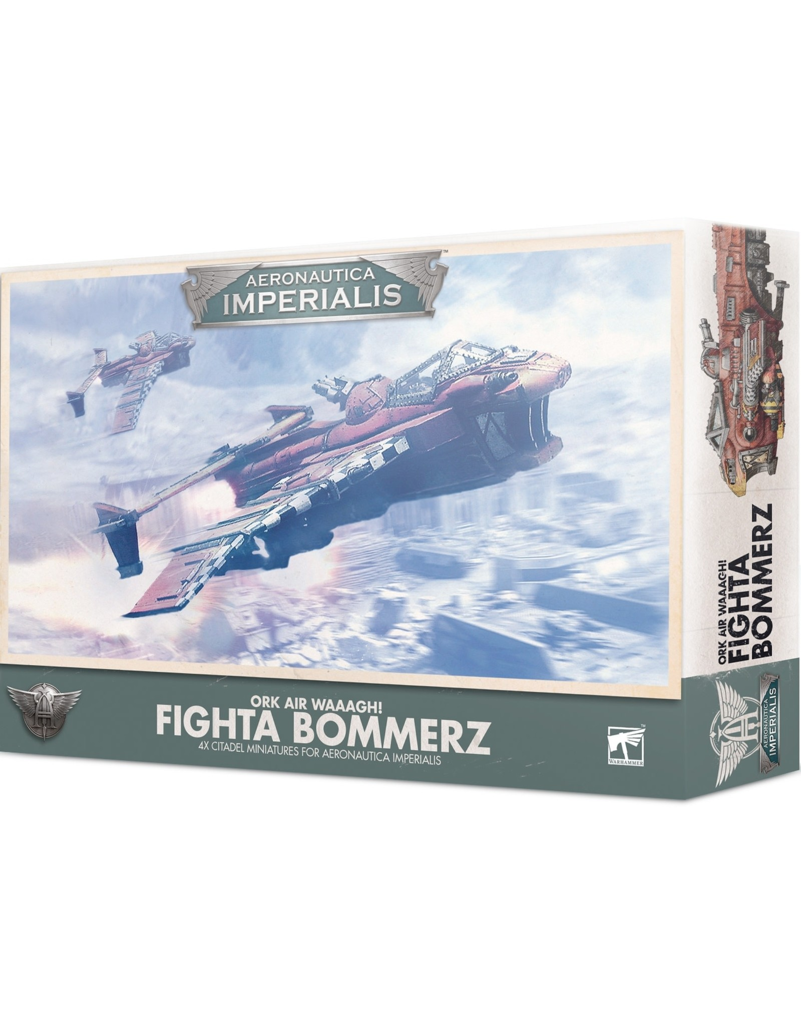 Aeronautica Imperialis Aeronautica Imperialis: Ork Air Waaagh! Fighta Bommerz