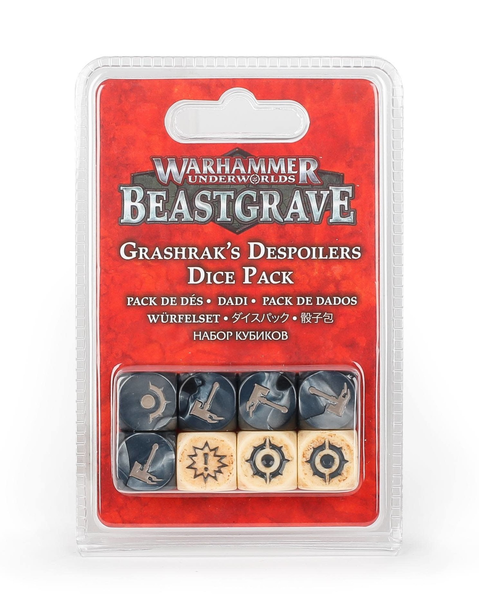 Warhammer Underworlds Warhammer Underworlds: Grashrak's Despoilers Dice Pack
