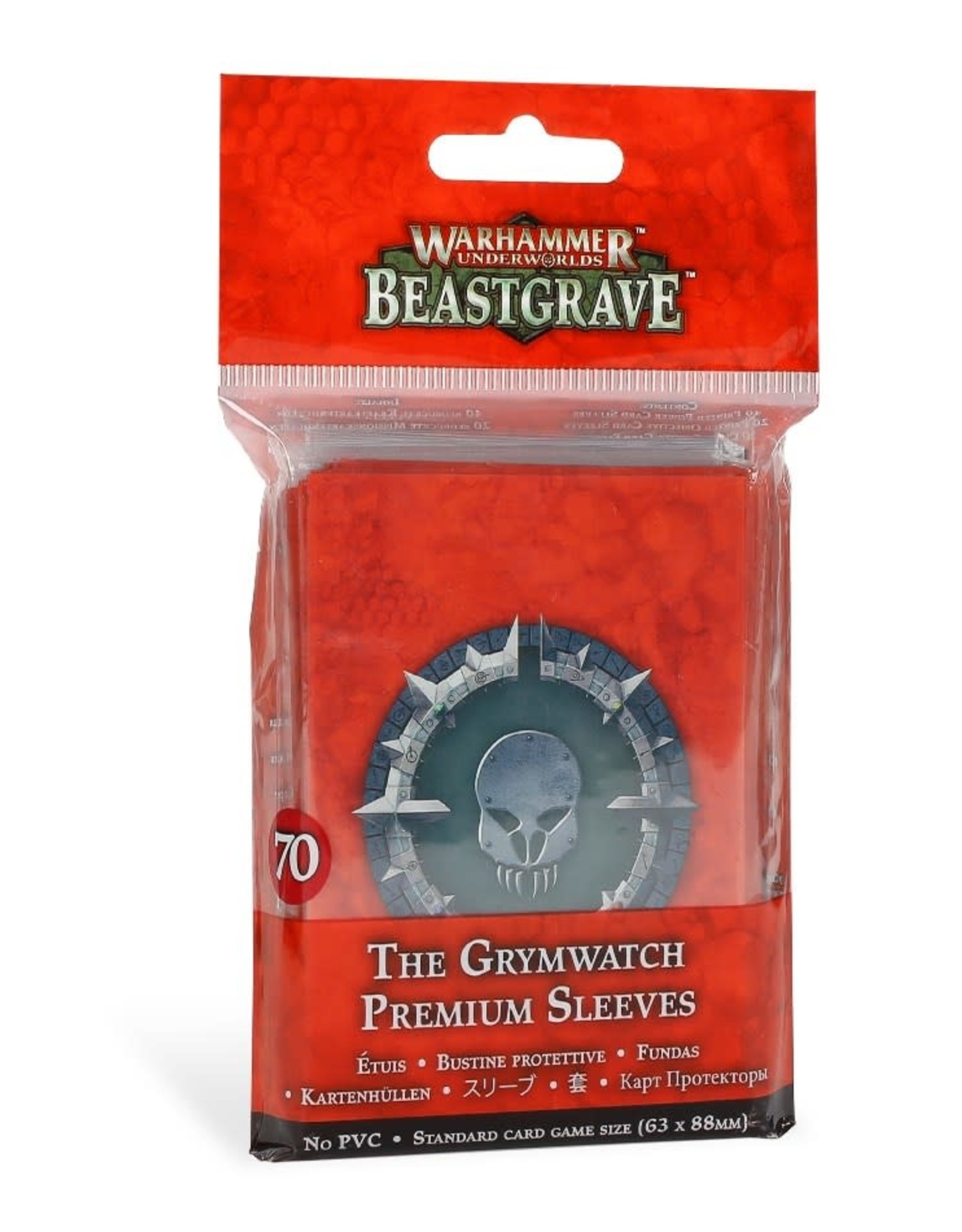 Warhammer Underworlds Warhammer Underworlds: The Grymwatch Premium Sleeves