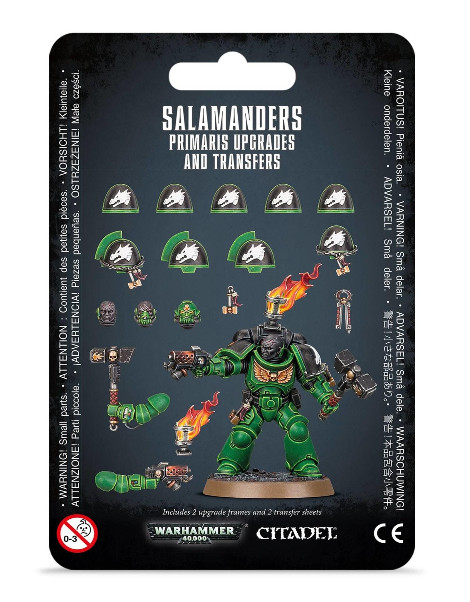 Warhammer 40K Salamanders Primaris  Upgrades and Transfers