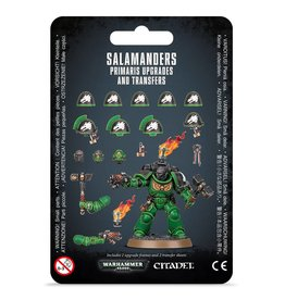 Warhammer 40K Salamanders Primaris  Upgrades and Transfers