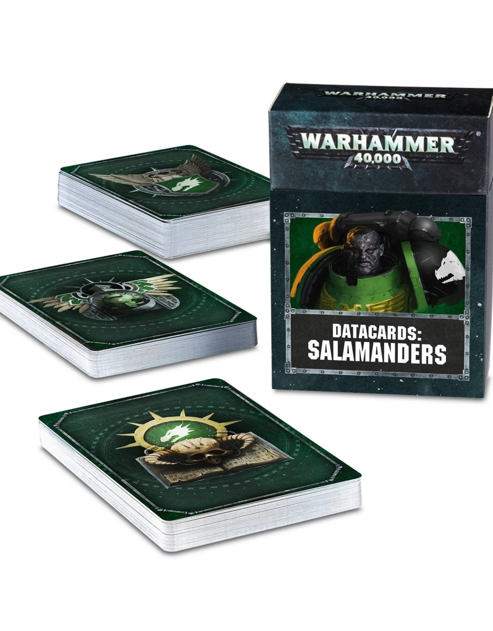 Warhammer 40K Datacards: Salamanders