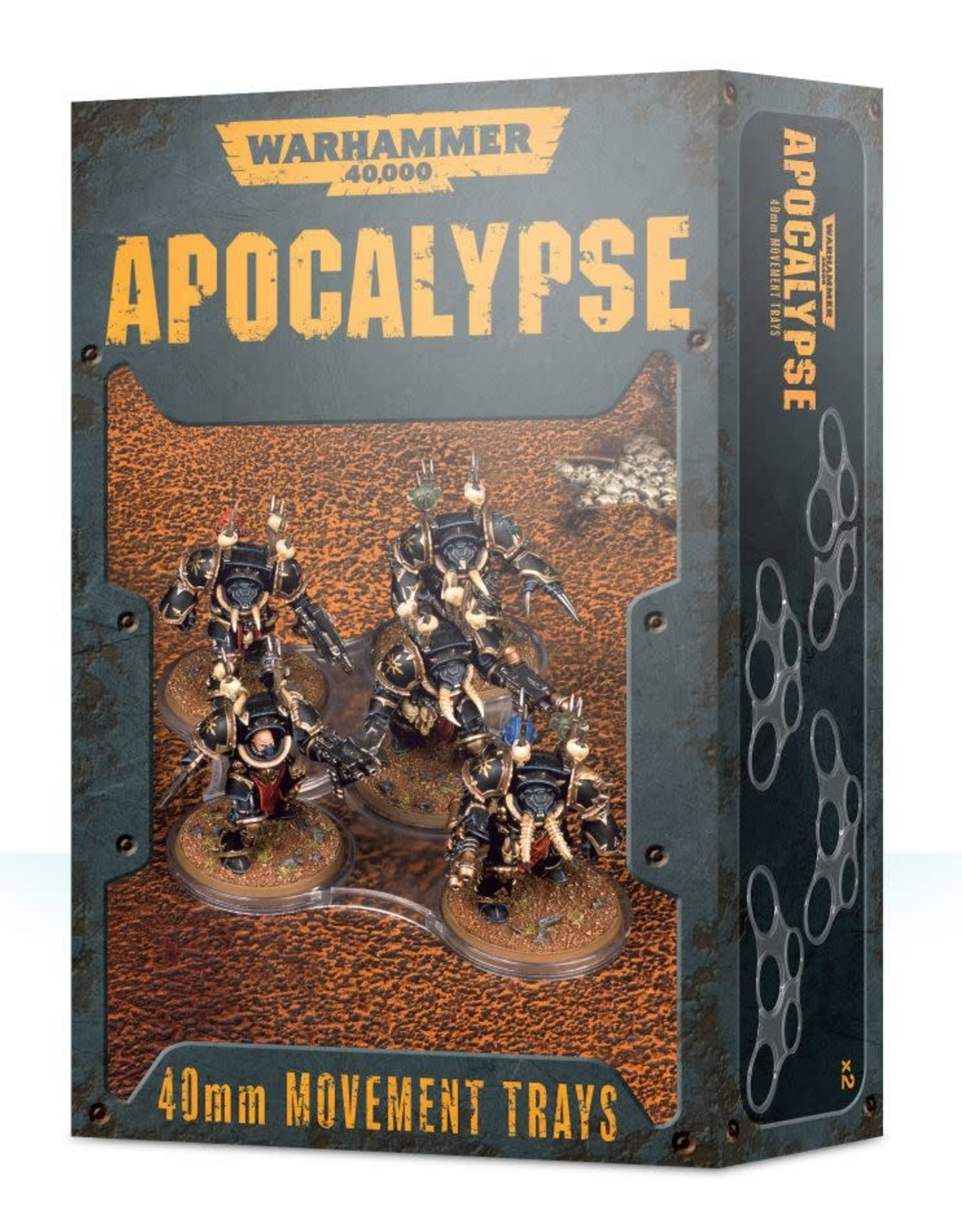 Warhammer 40K Apocalypse 40mm Movement Trays