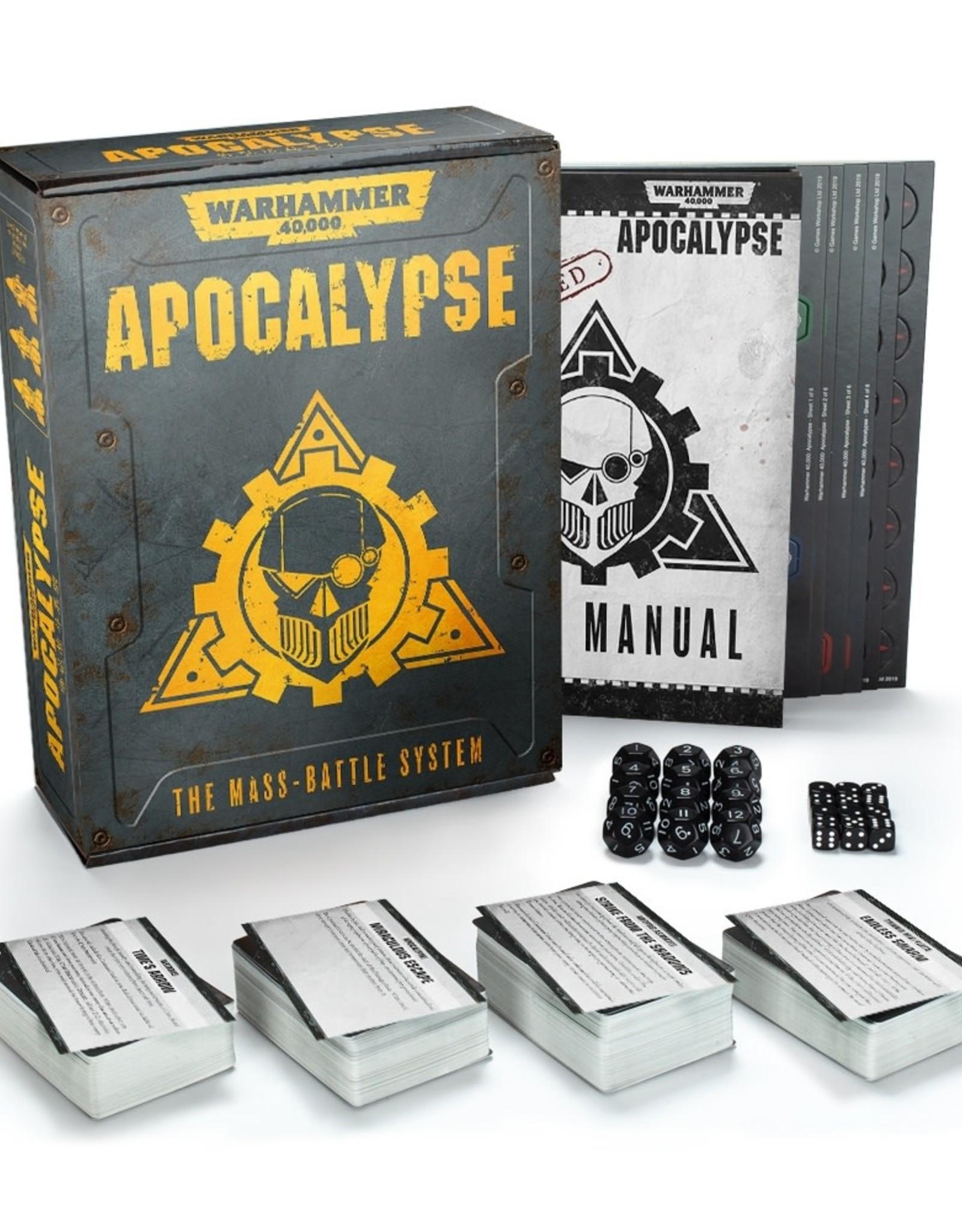 Warhammer 40K Apocalypse System