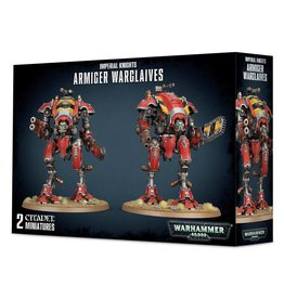 Warhammer 40K Imperial Knights: Armiger Warglaives