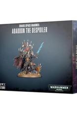 Warhammer 40K Chaos Space Marines Abaddon the Despoiler