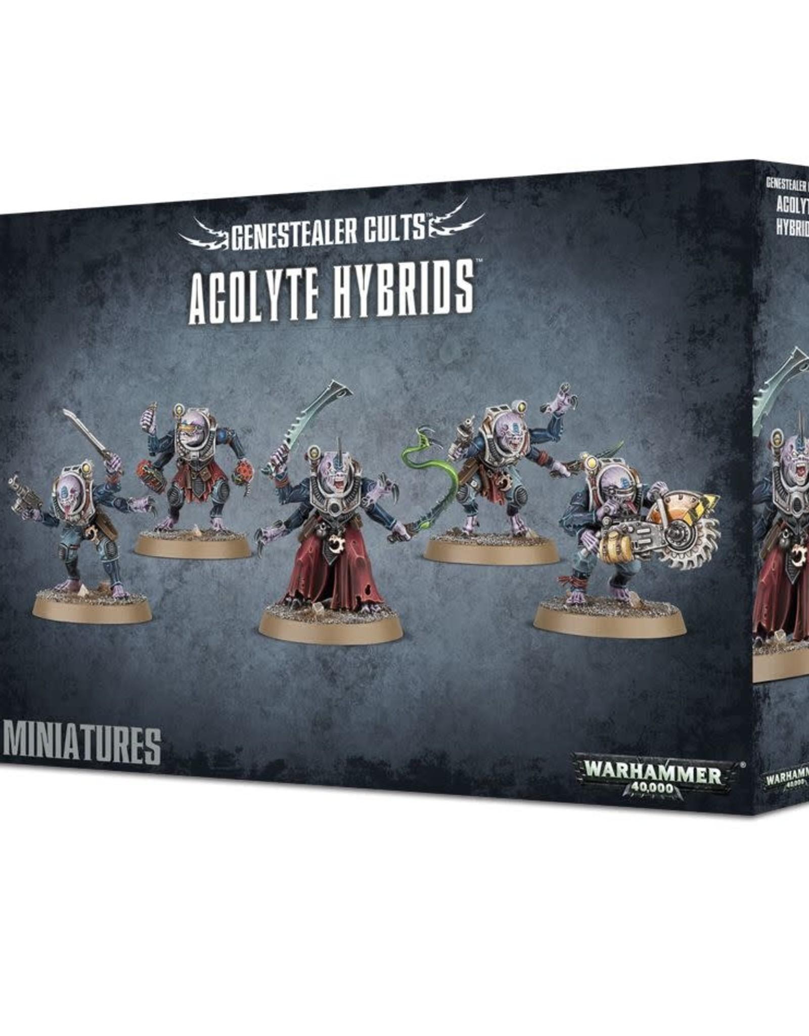 Warhammer 40K Genestealer Cults Acolyte Hybrids/Hybrid Metamorphs