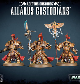 Warhammer 40K Adeptus Custodes Allarus Custodians