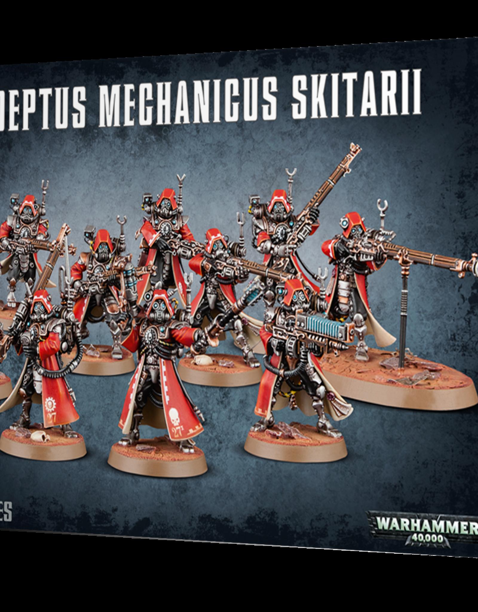 Warhammer 40K Adeptus Mechanicus Skitarii Rangers/Vanguard