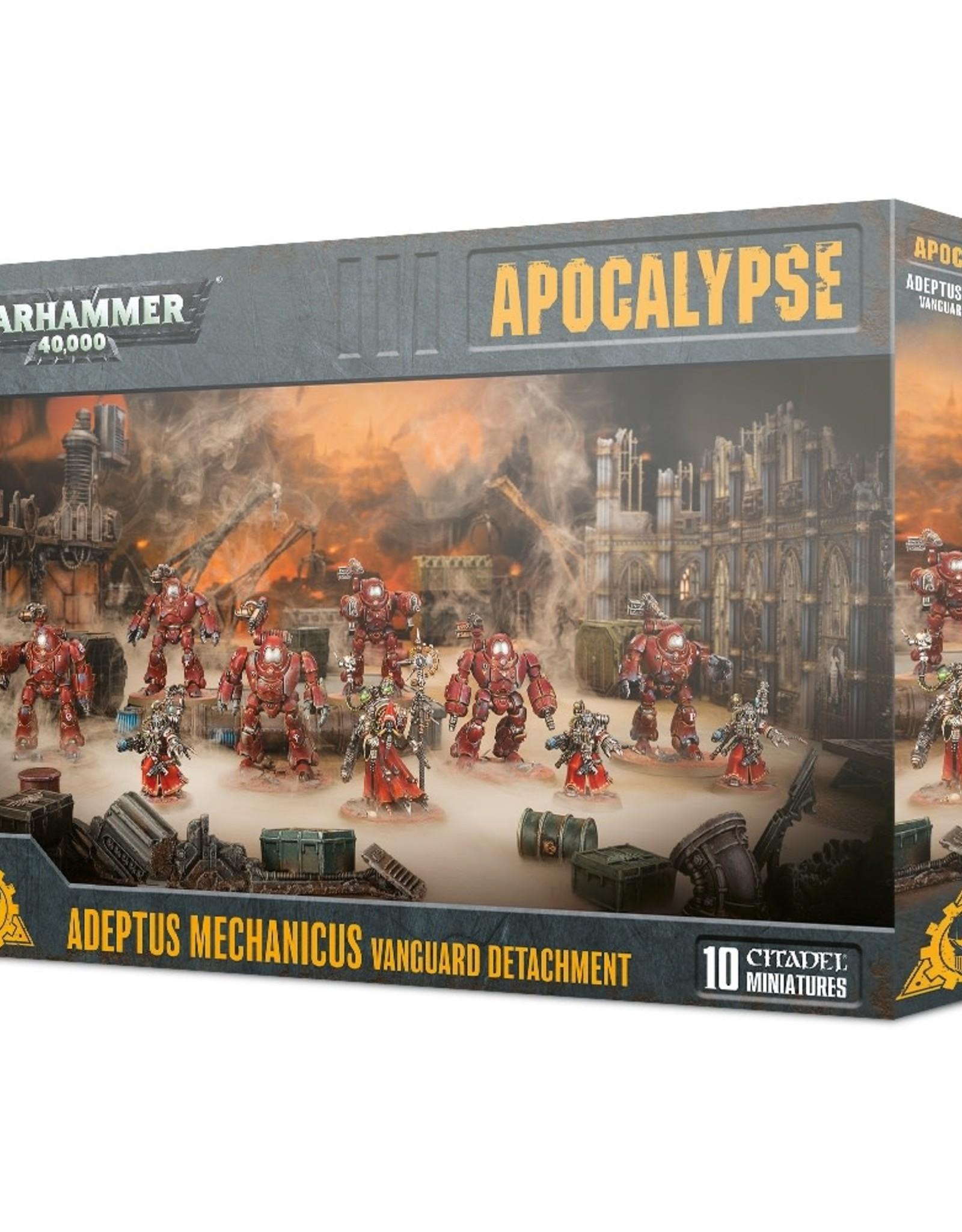 Warhammer 40K Adeptus Mechanicus Vanguard Detachment