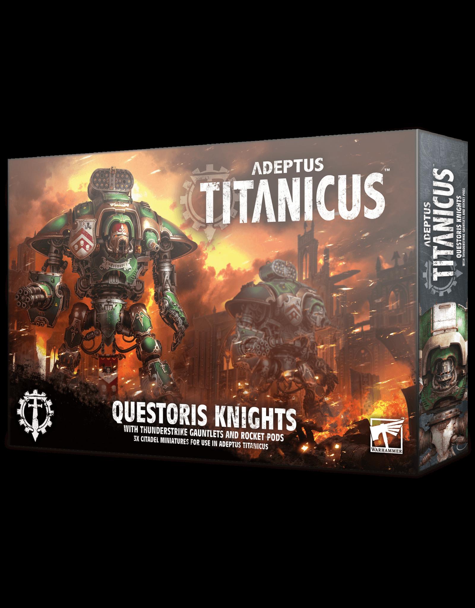 Adeptus Titanicus Adeptus Titanicus Questoris Knights