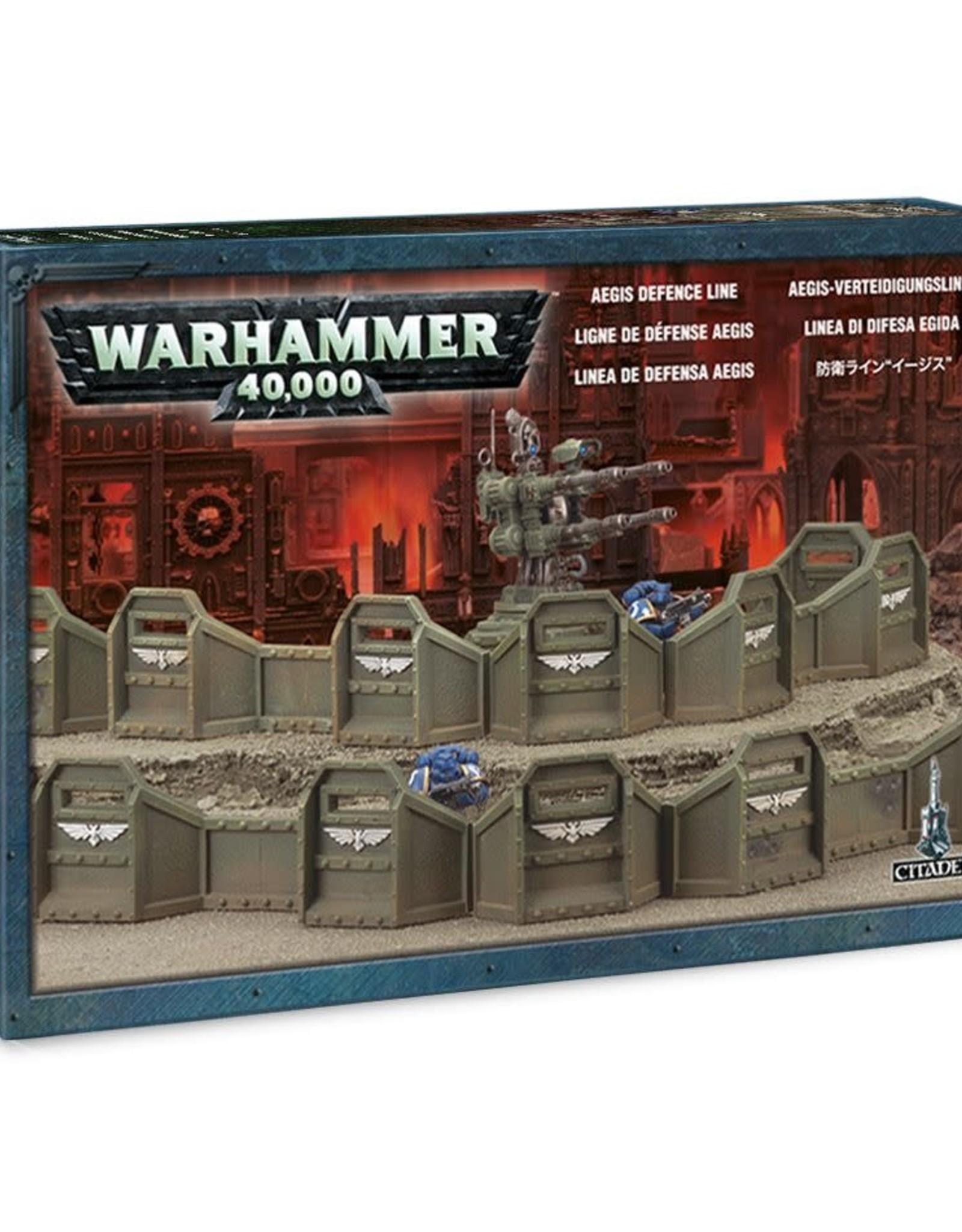 Warhammer 40K Aegis Defence Line