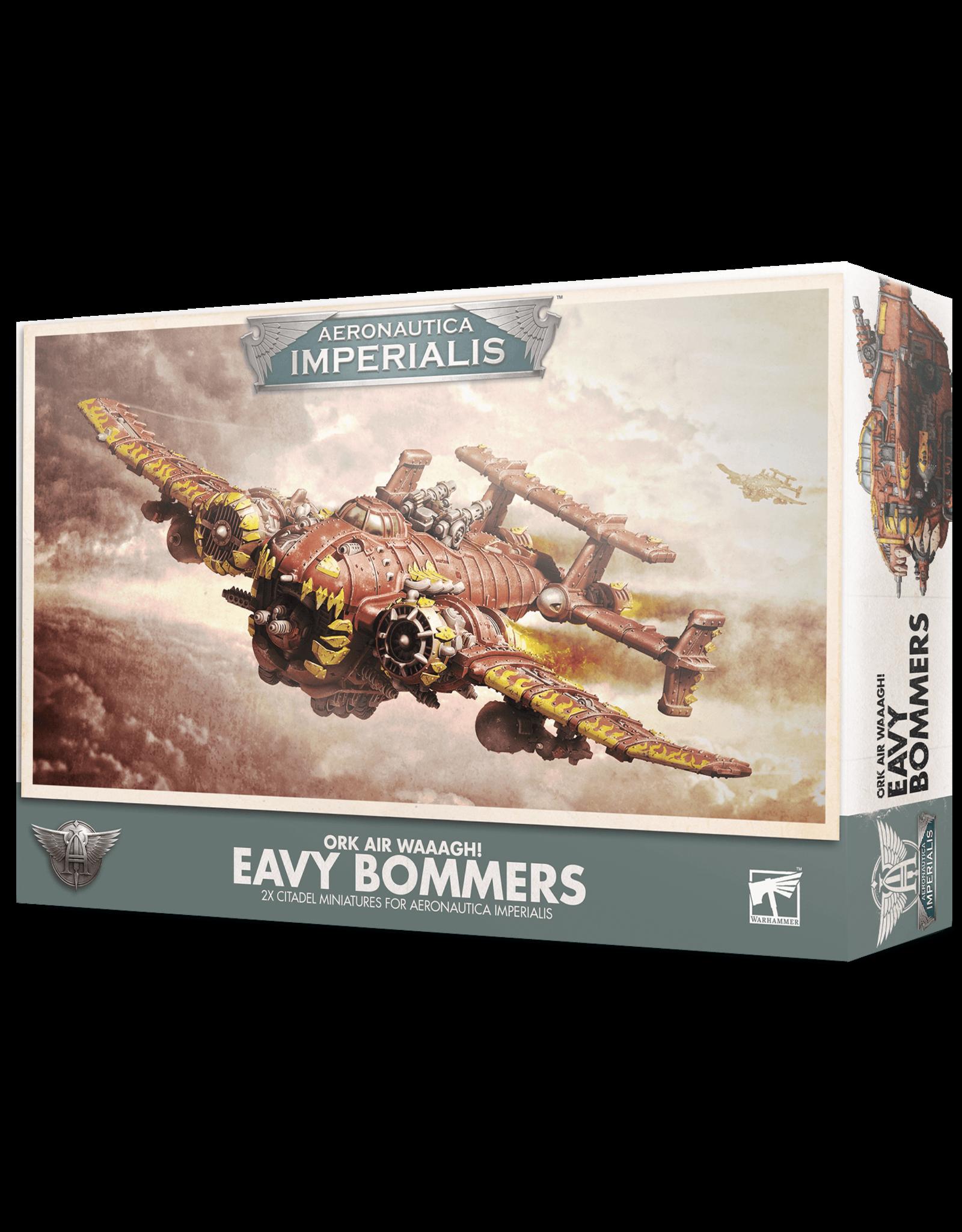 Aeronautica Imperialis Aeronautica Imperialis: Ork Air Waaagh! 'Eavy Bommerz