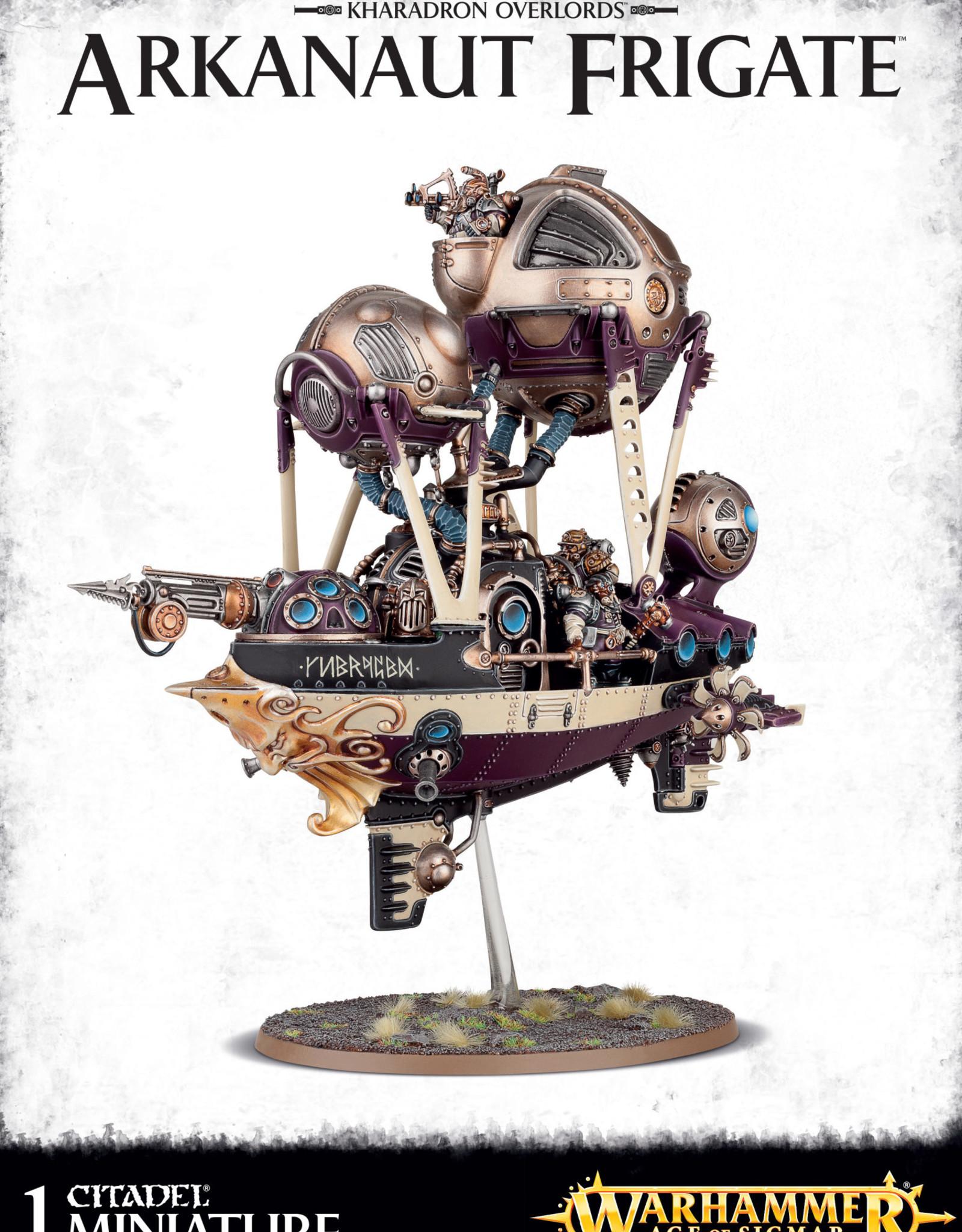 Age of Sigmar Kharadron Overlords Arkanaut Frigate