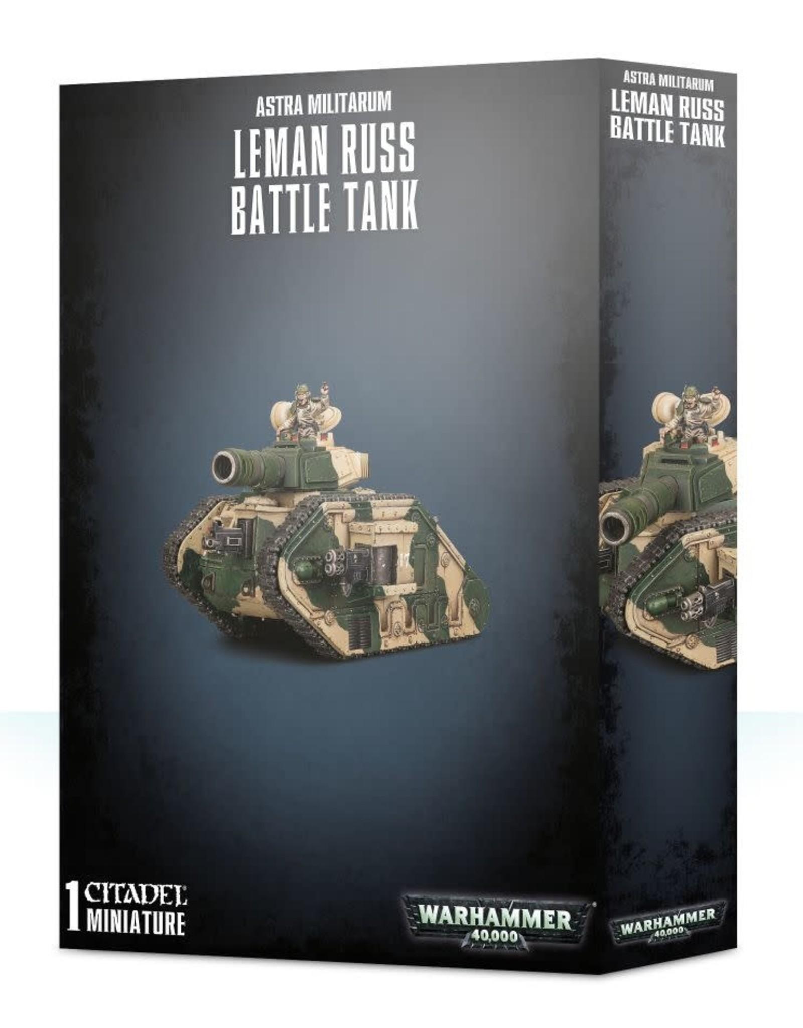 Warhammer 40K Astra Militarum Leman Russ Battle Tank
