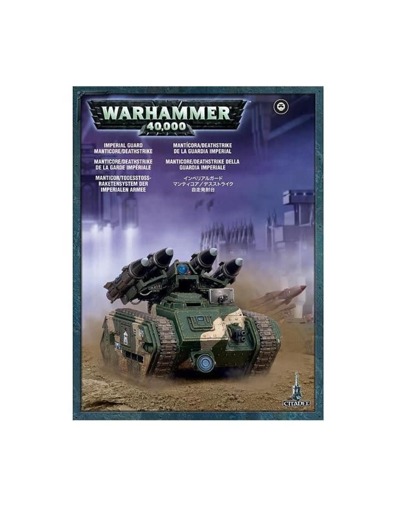 Warhammer 40K Astra Militarum Manticore/Deathstrike