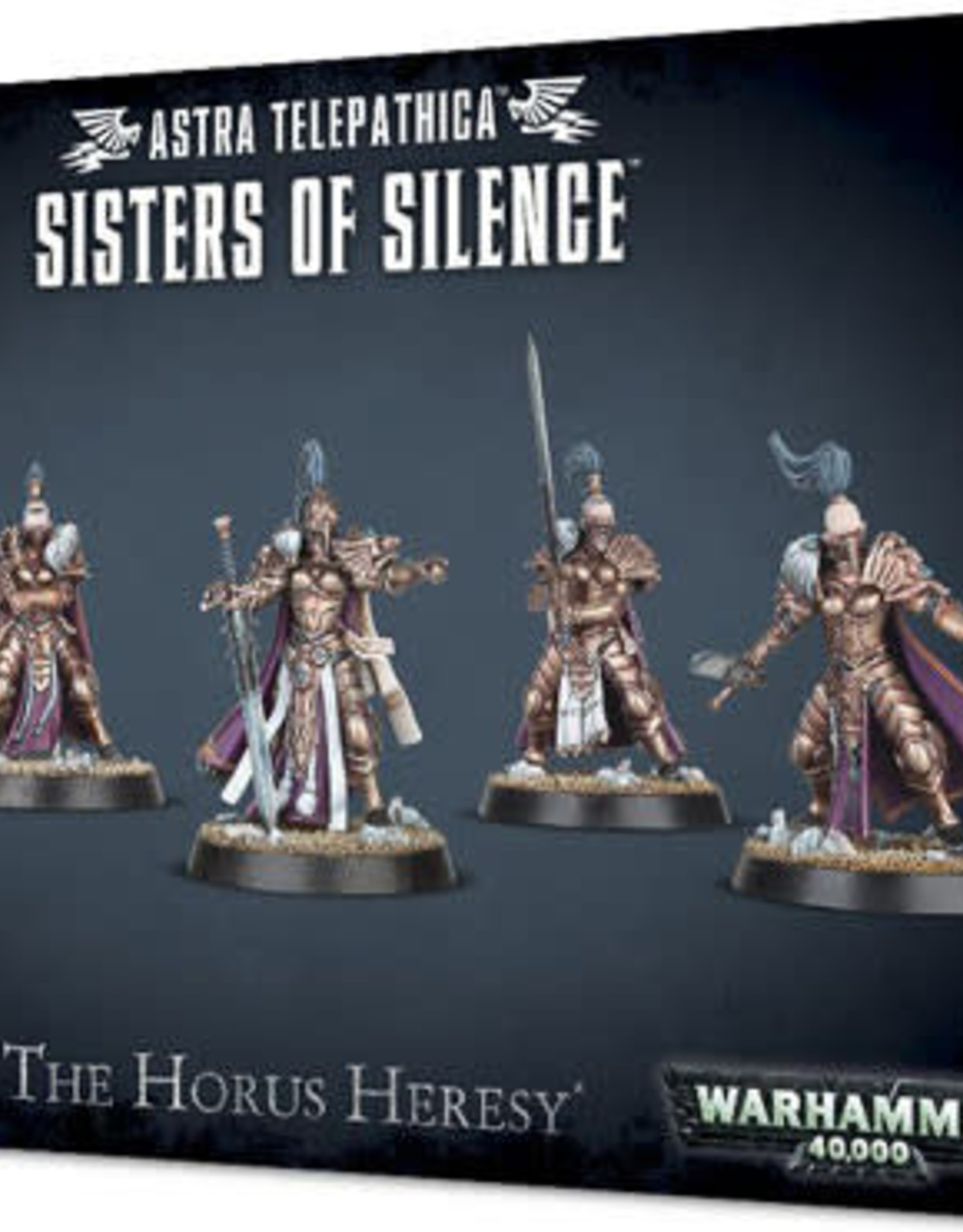 Warhammer 40K Astra Telepathica Sisters of Silence
