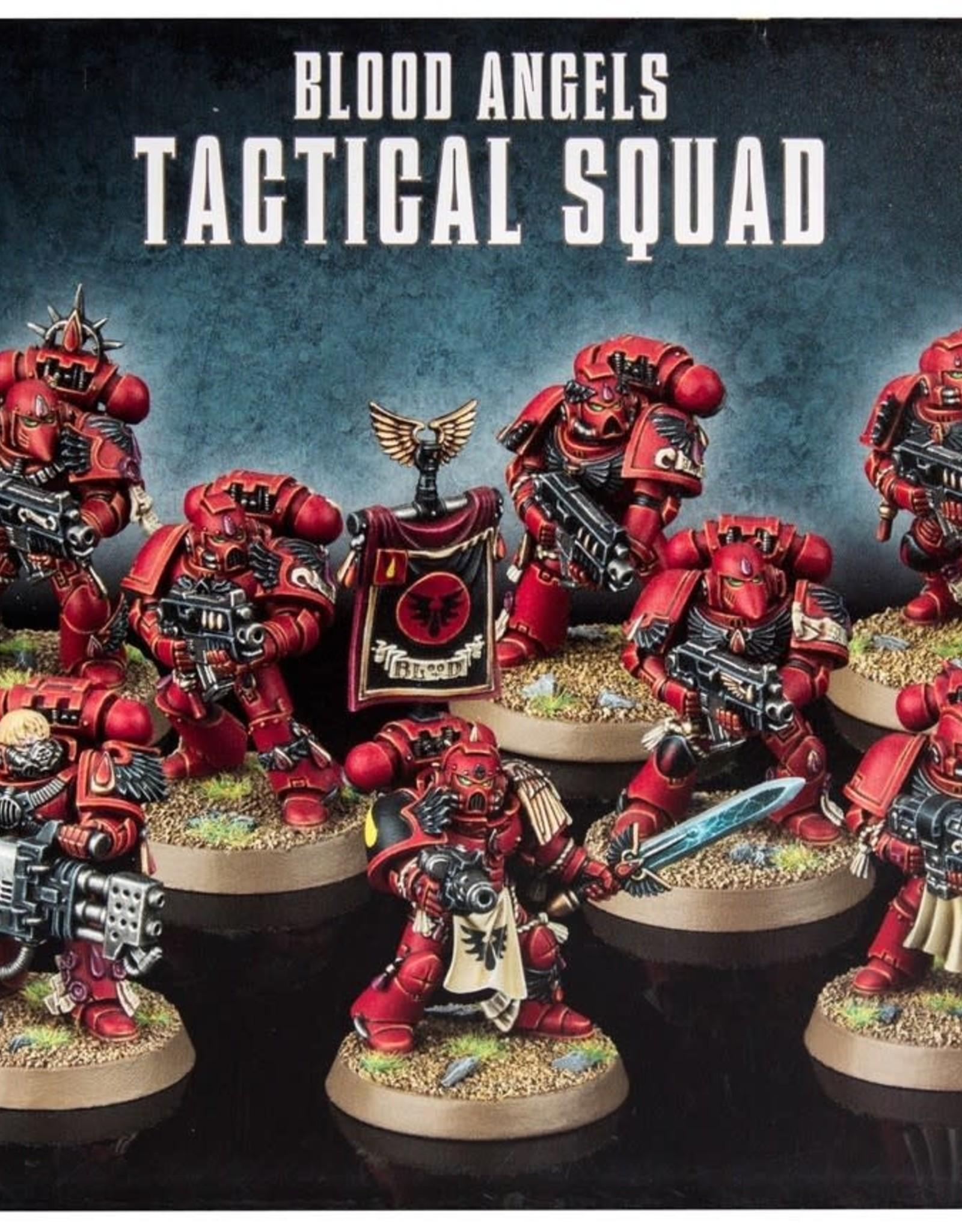 Warhammer 40K Blood Angels Tactical Squad
