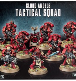 Warhammer 40K Blood Angels Tactical Squad