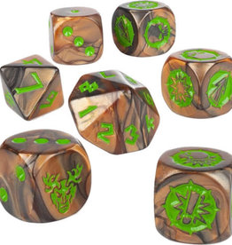 Blood Bowl Blood Bowl: Wood Elf Team Dice Set