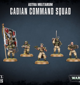 Warhammer 40K Astra Militarum Cadian Command Squad