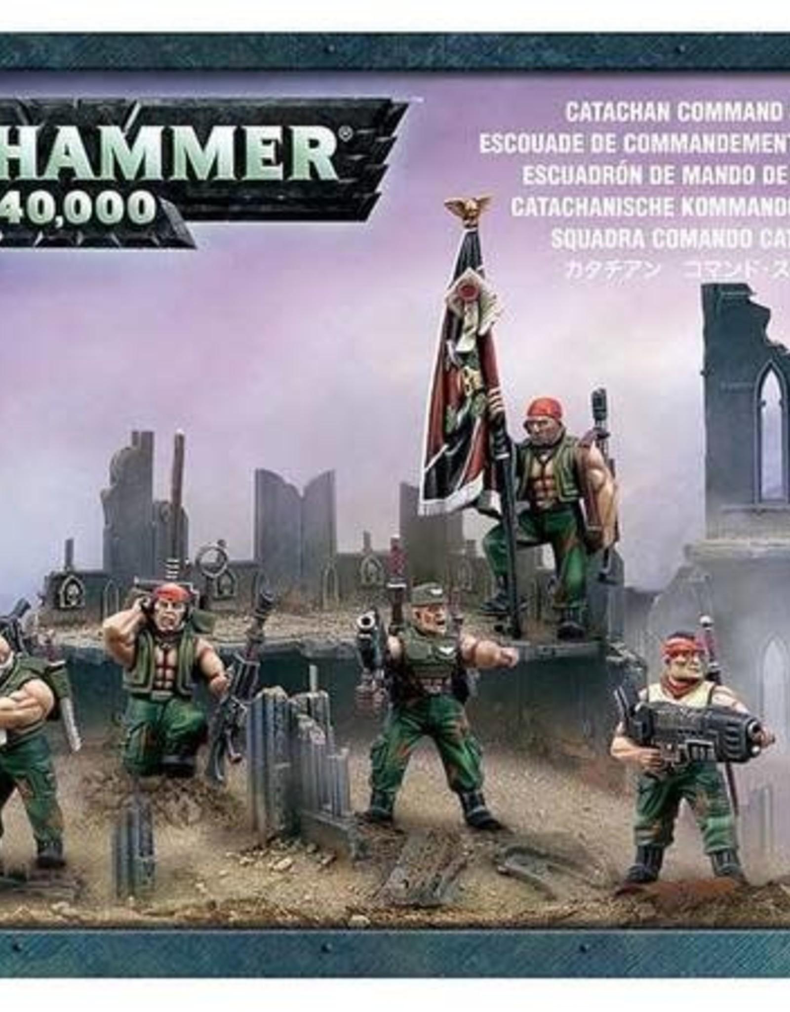 Warhammer 40K Catachan Command Squad