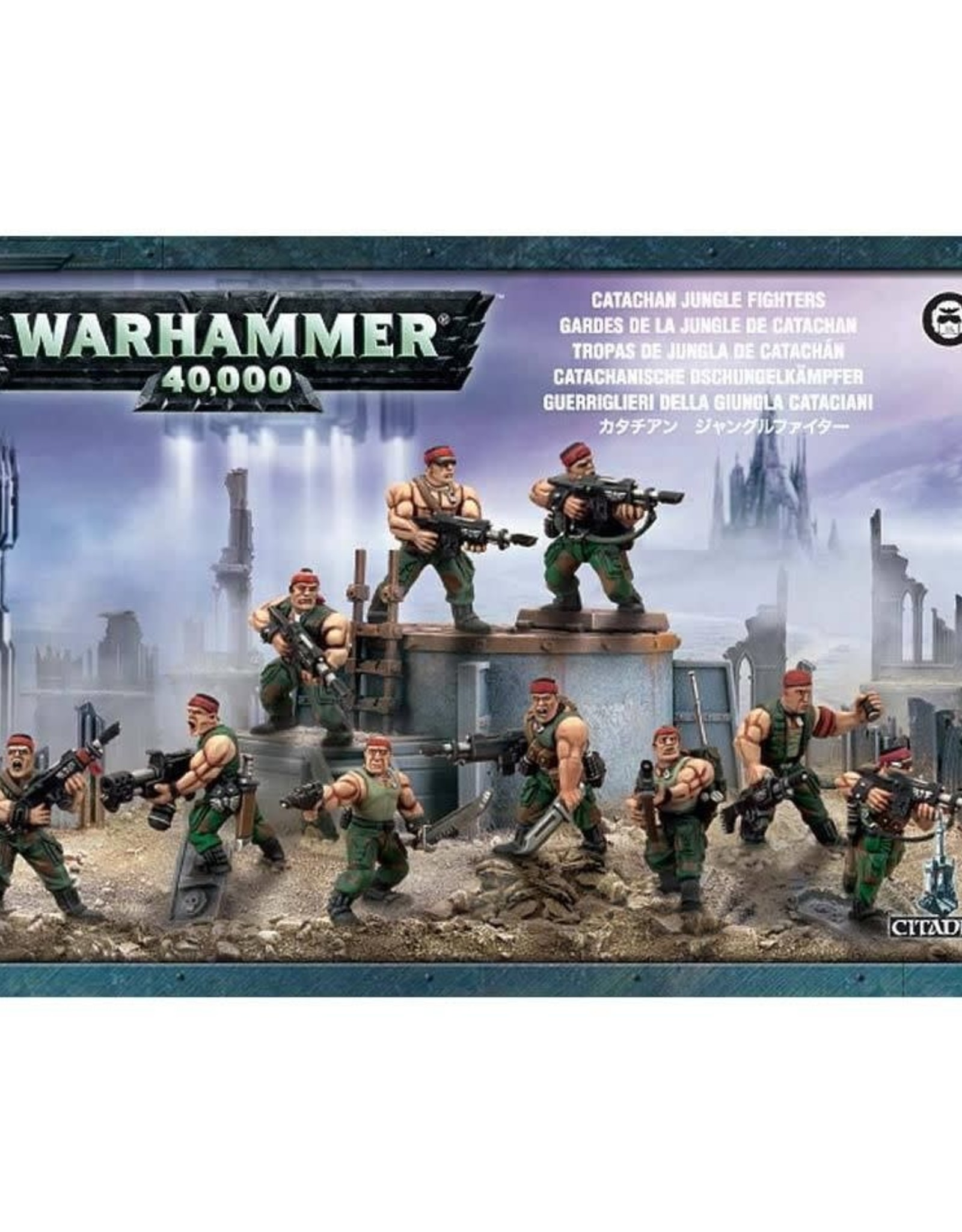 Warhammer 40K Catachan Jungle Fighters