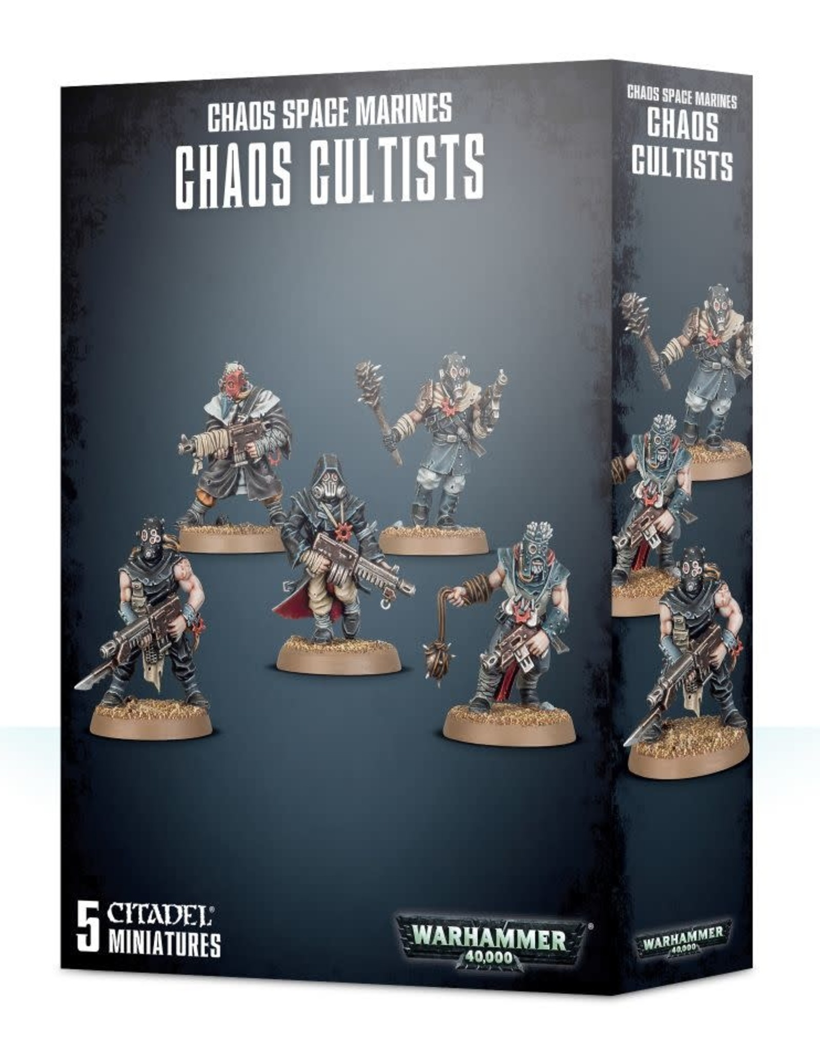 Warhammer 40K ETB: Chaos Space Marines Chaos Cultists