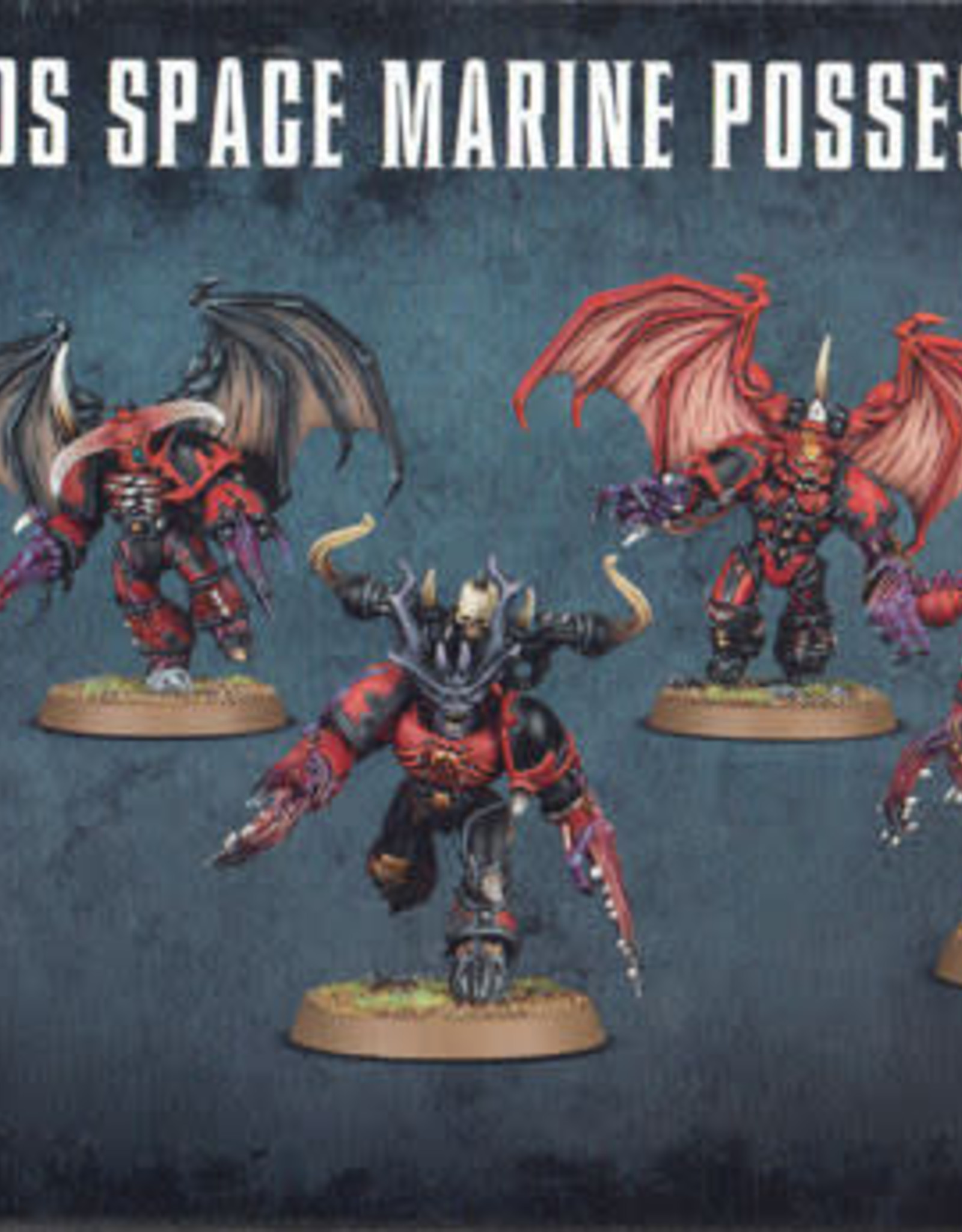 Warhammer 40K Chaos Space Marines Possessed