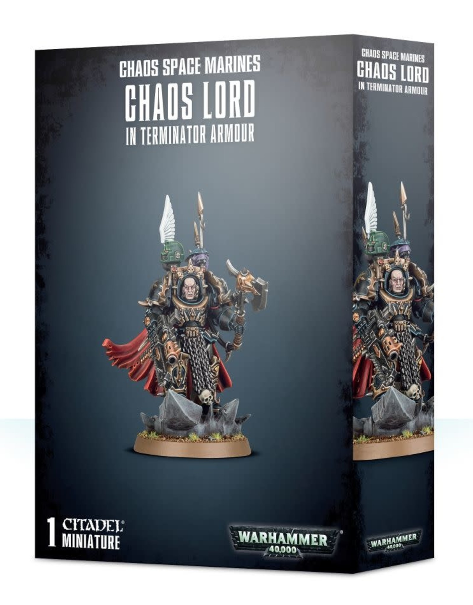 Warhammer 40K Chaos Terminator Lord / Sorcerer Lord