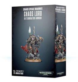 Warhammer 40K Chaos Terminator Lord / Sorcerer Lord