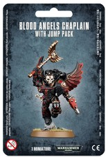 Warhammer 40K Blood Angels Chaplain with Jump Pack